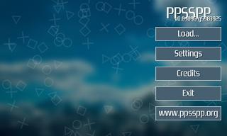PSP emulator langkah-1