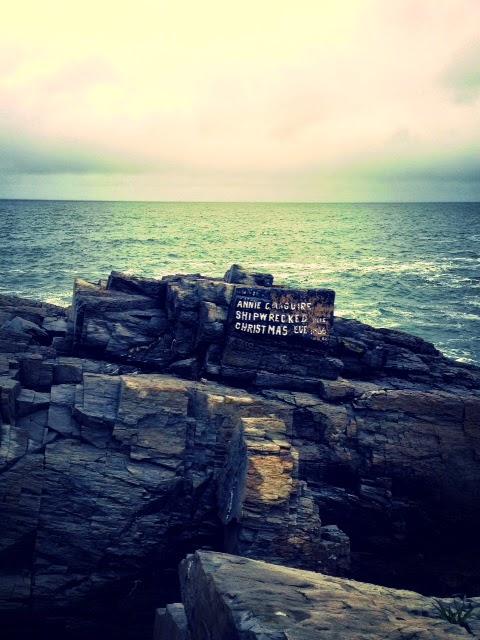 Maine harbor, Maine cliffs, best United States vacation spots