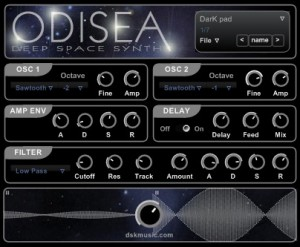 DSK Odisea - Deep Space Synth - Plugin VST