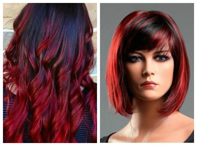 Fabuloso A gente se fala: Inspirações para cabelo vermelho VF14