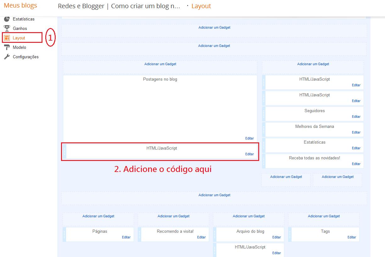 paginas numeradas blogger