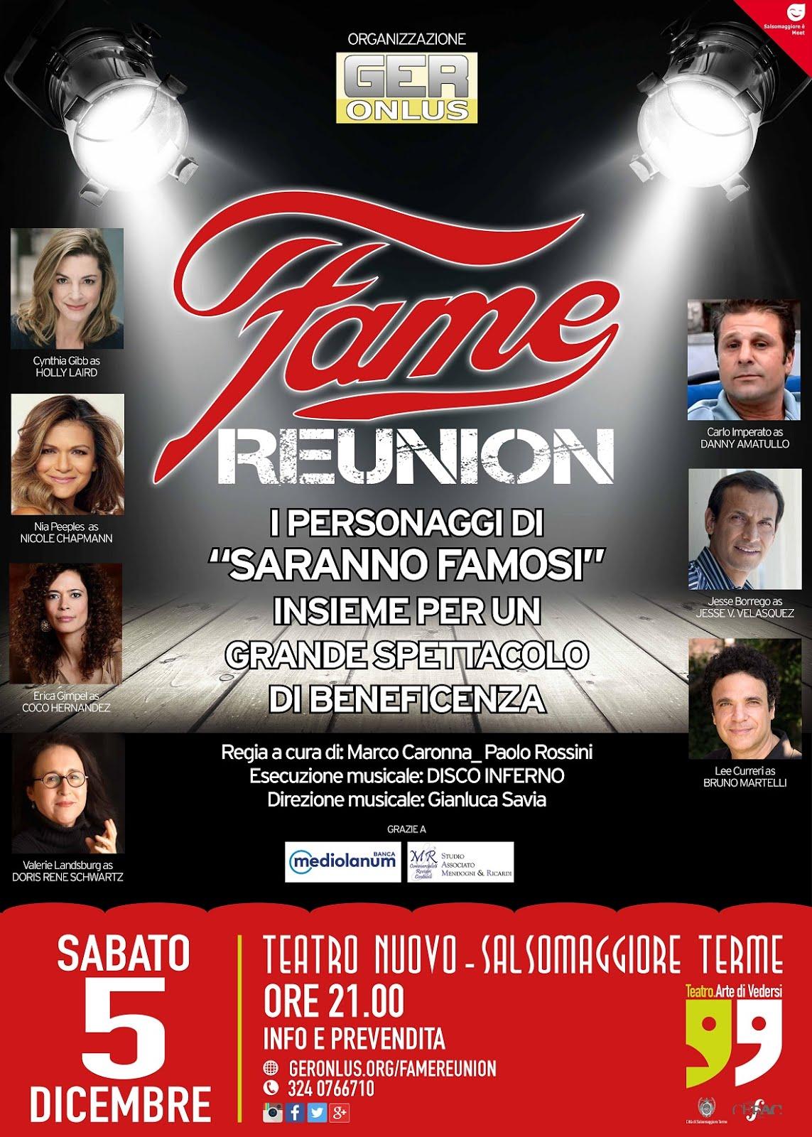 Fame Reunion 2015