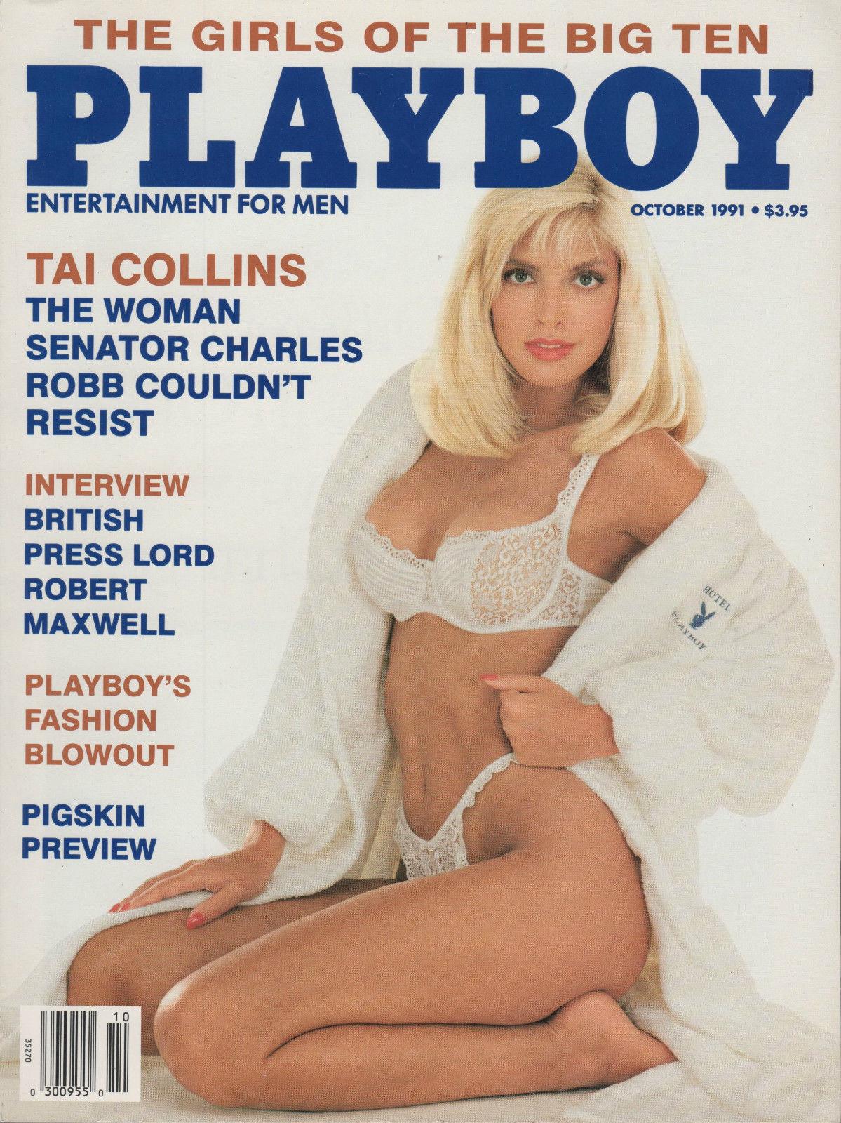 Les nombres en images. Playboy-October1991-cover