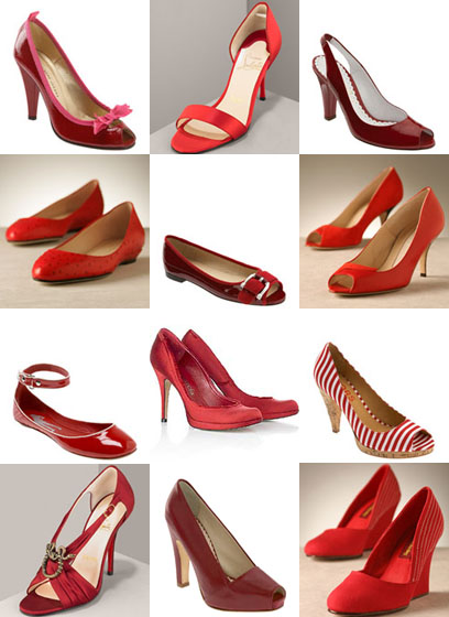 Red Weding Shoes 028 - Red Weding Shoes