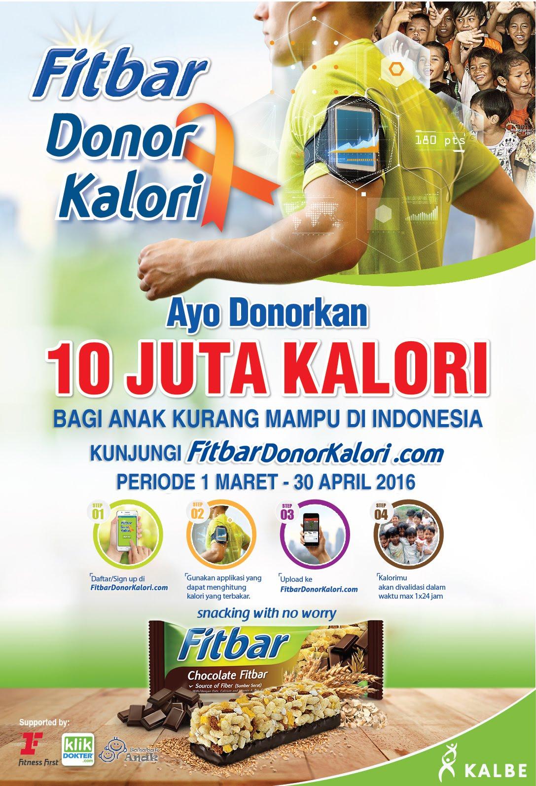 #FitbarDonorKalori