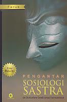 toko buku rahma: buku PENGANTAR SOSIOLOGI SASTRA, pengarang faruk, penerbit pustaka pelajar