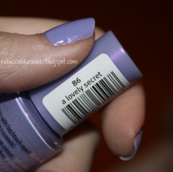 Essence Gel Nail Polish Space Queen: Rebecca Likes Nails: Konad M85 + Essence A Lovely Secret