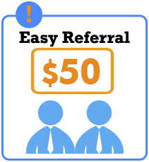 Earn $50 for each referred friend.