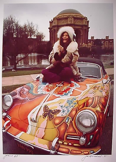 Vintage everyday janis joplin s 1965 porsche 356c for Oh lord won t you buy me a mercedes benz