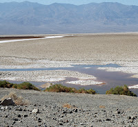 badwater basin on Death Valley