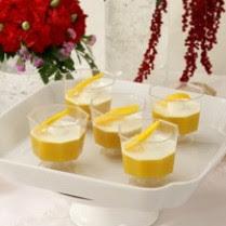 Resep Cara Membuat Puding Mangga saus Krim