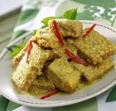 Resep Tempe, cara membuat tempe kalio, menu masakan tempe
