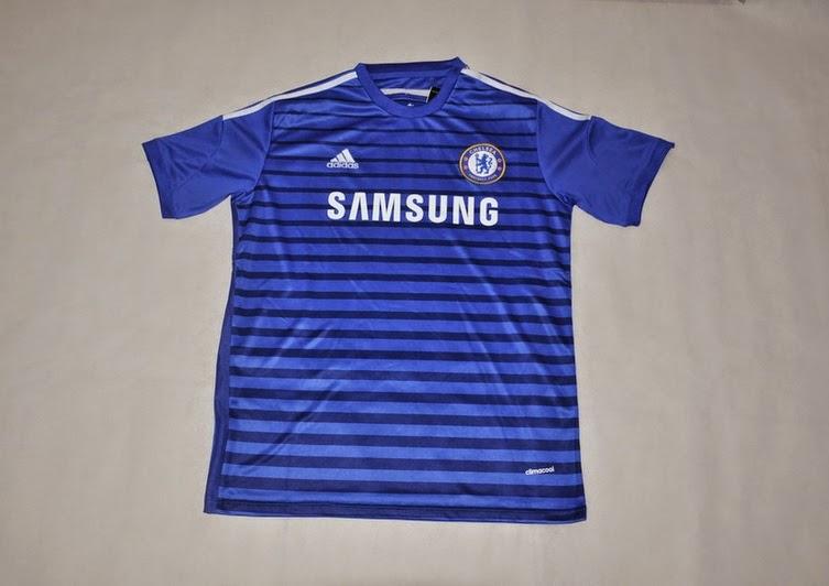 Jersey Klub Bola 2014 - 2015 Kumplit Chelsea Home