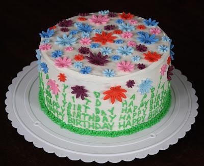 Straight to Cake: Moms Spring Birthday Cake