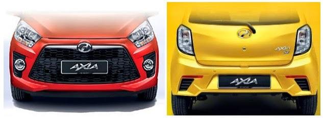 Harga Dan Spesifikasi Perodua Axia Baru