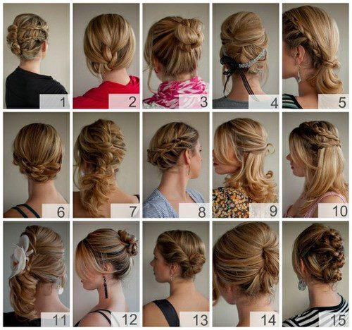 Фото DIY / Full instructions, hints and tips for creating over 30 hairstyles at home.