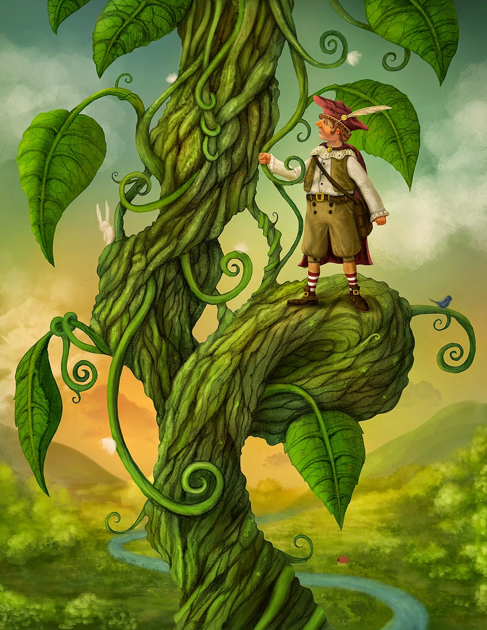 jack and the beanstalk a hero s