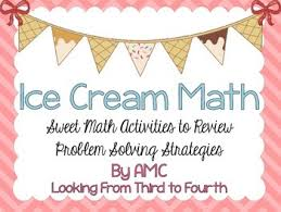 http://www.teacherspayteachers.com/Product/Problem-Solving-Review-Ice-Cream-Math-1246954