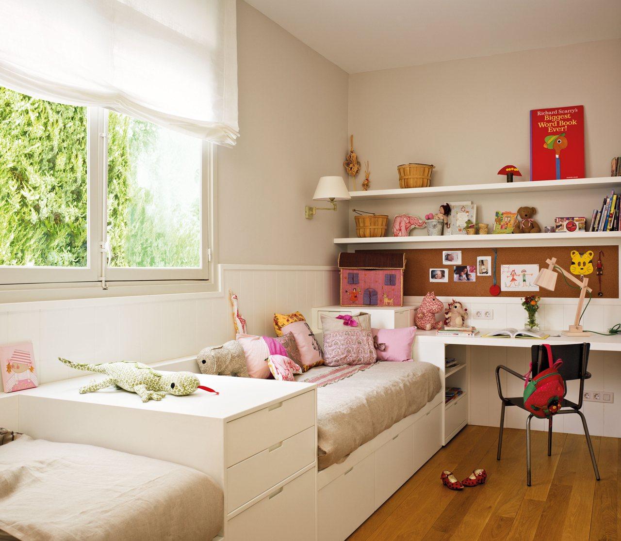 Blog achados de decora o casa decorada grande e bela - Dormitorio infantil nina ...