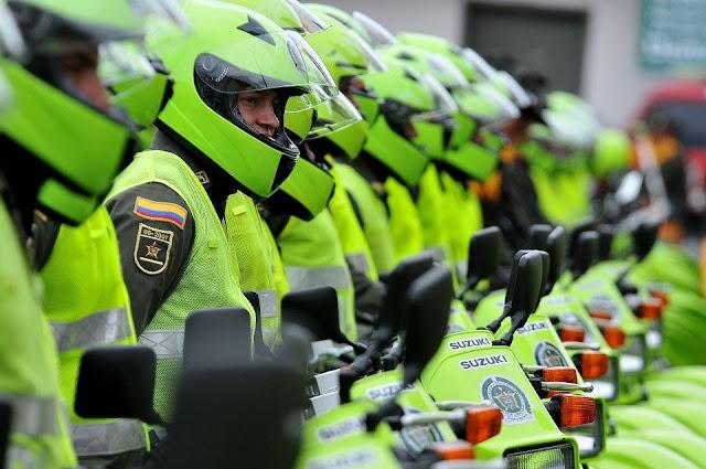 Policía Metropolitana en la ciudad de Neiva