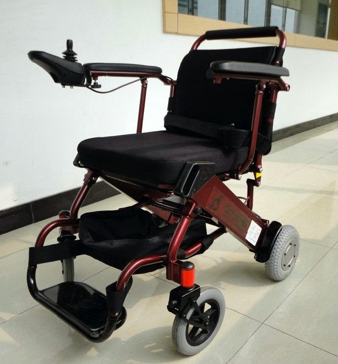 Light weight electric mobility wheelchair for Lightweight motorized folding wheelchair