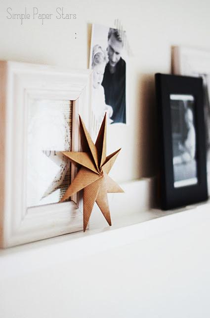 christmas paper stars diy
