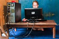 warnet, netcafe in Indonesia