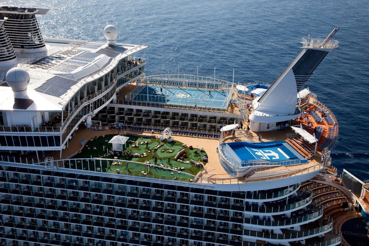 Amazing World Oasis Of The Seas  The Largest Luxury