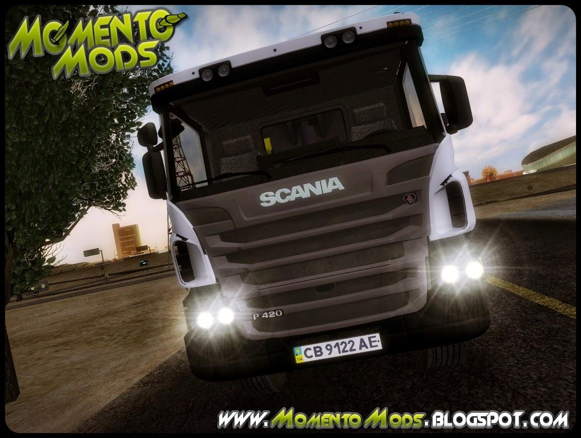 GTA SA - Scania P-420