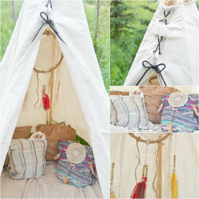 Fawn Over Baby: DIY- No Sew Teepee