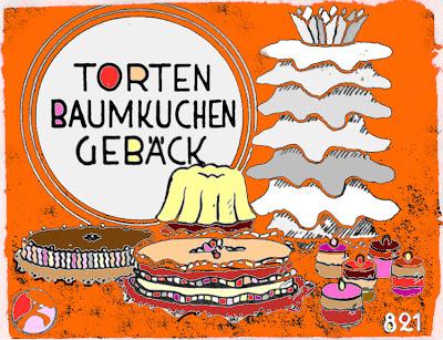 """""""Torten, Baumkuchen, Gebäck"""" in Wort und Bild"""