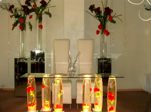 VIDEO DECORACION DE MESA DE NOVIOS