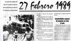 """El """"Caracazo"""": Hace 24 años - texto de S. Seguí - contiene vídeo relacionado: """"El Caracazo, Estallido Social"""", de Giovanna Proaño Moreno  Images+caracazo"""