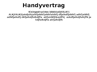 Handy-Vertrag