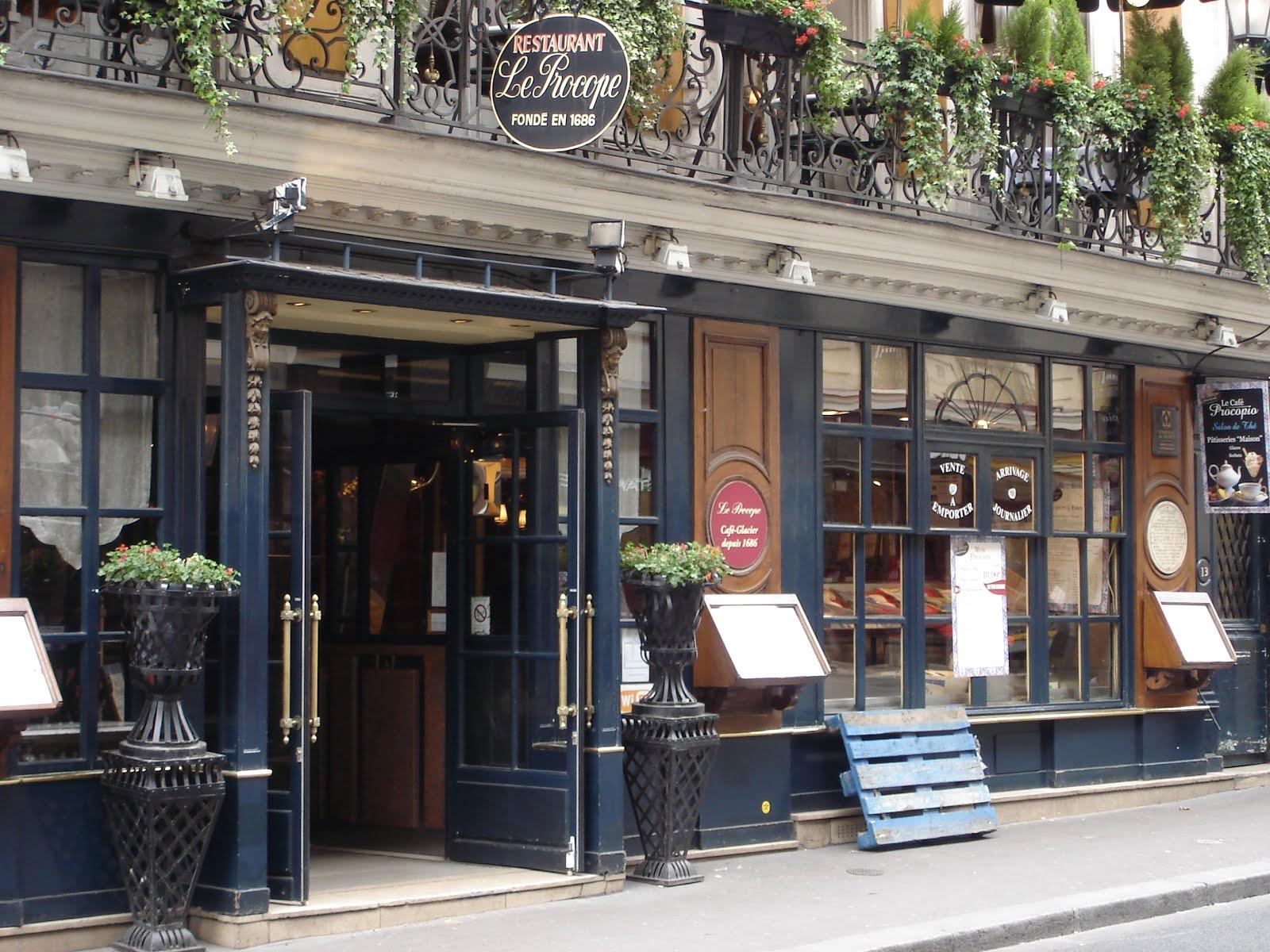 Bild Altes Kleines Hotel In Paris