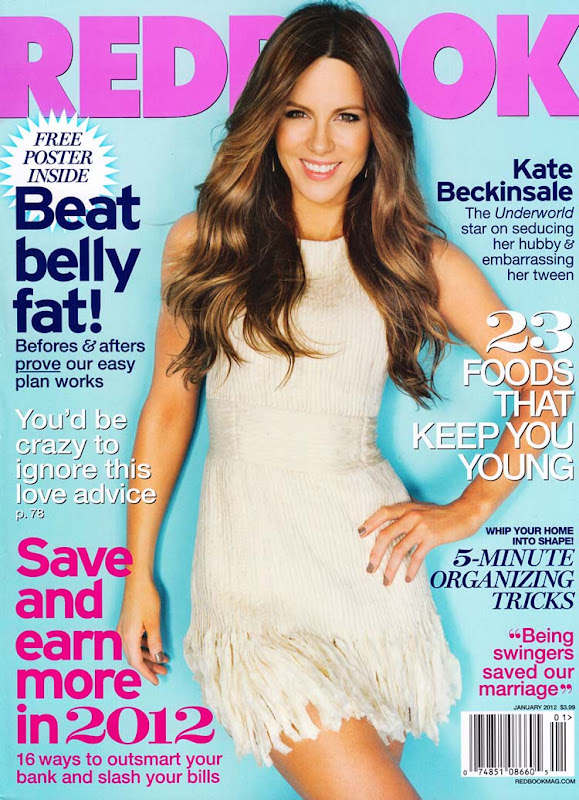 Kate Beckinsale Covers on Redbook Magazine