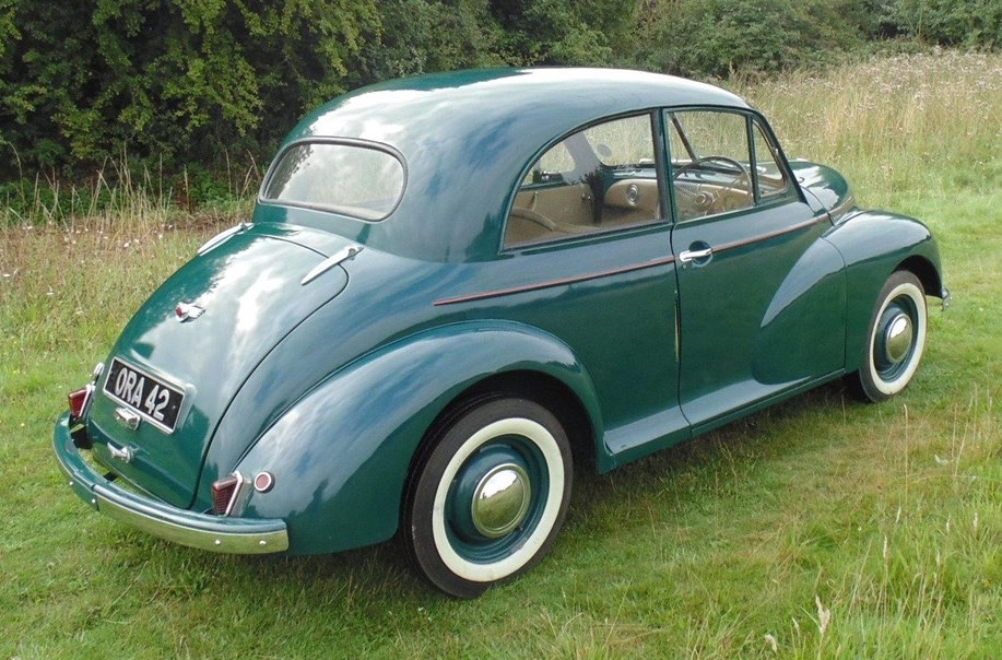 Car Style Critic: The Long-Lived Morris Minor