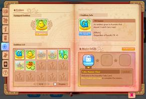 Tales Runner Emblems