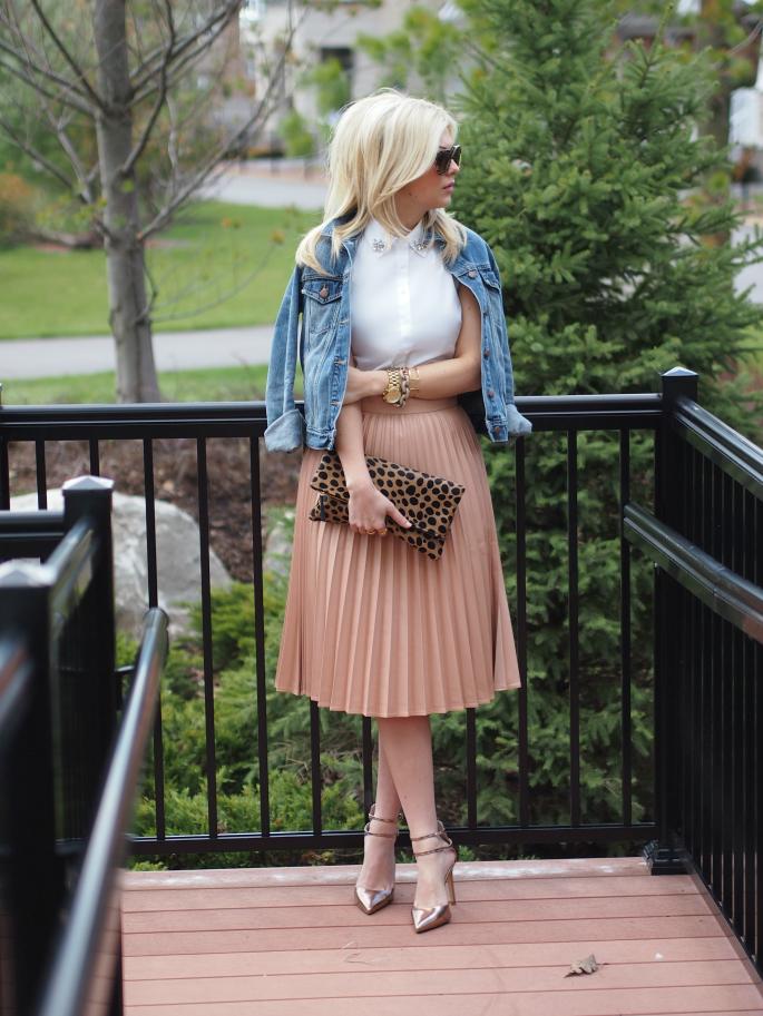 Suburban Faux Pas: Accordion Skirt