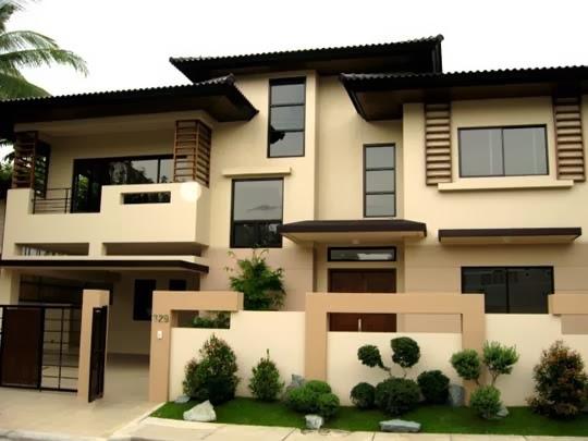 model rumah minimalis tips warna cat rumah dark brown hairs