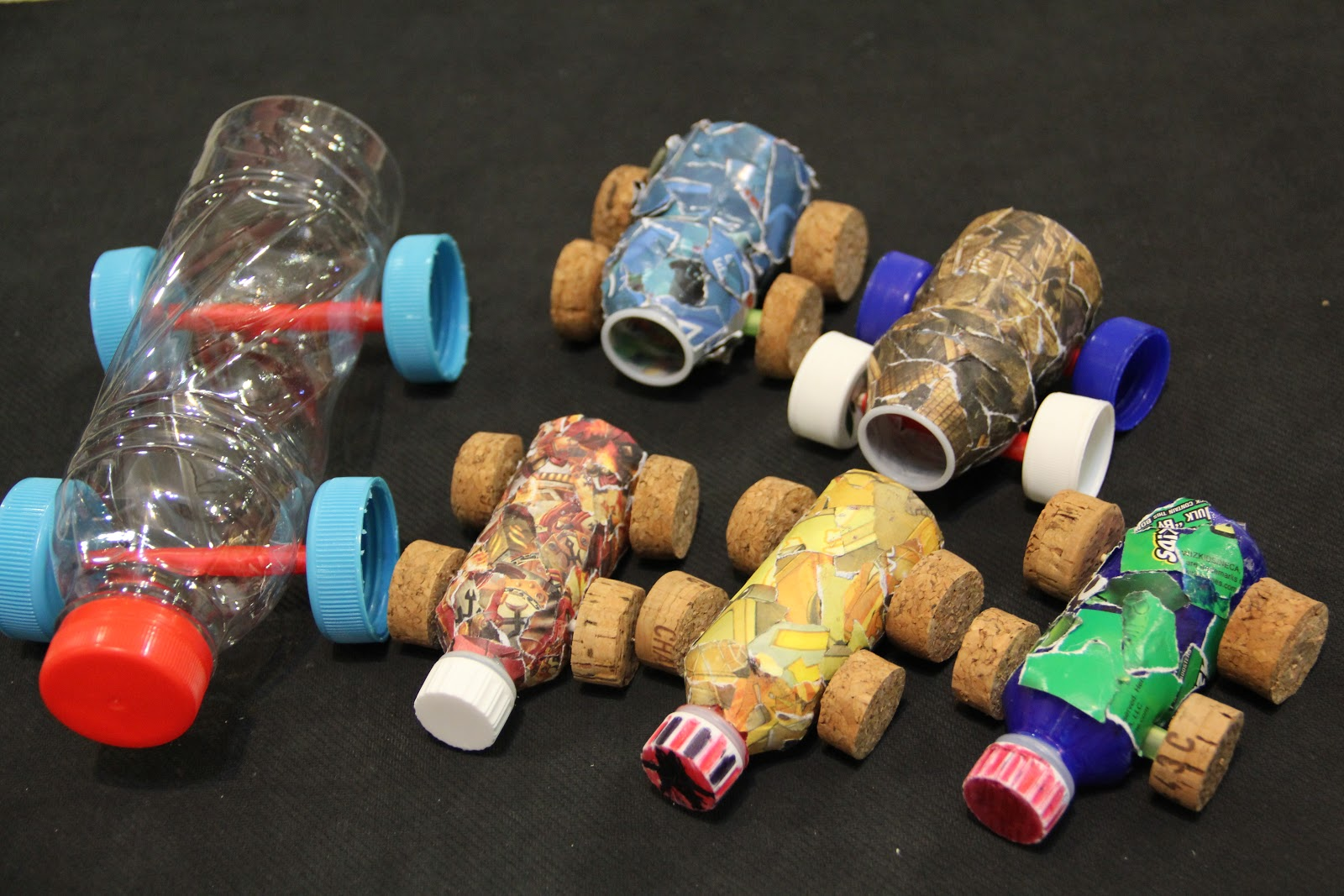 Tan family chronicles make your own car today for Homemade recycled products