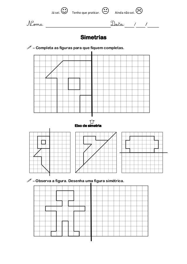 Top Blog Professor Zezinho : Matemática - Simetrias NC01