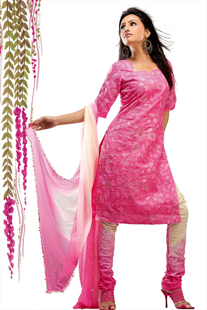 Latest Indian Fashion Womens Casual Wear Salwar Kameez