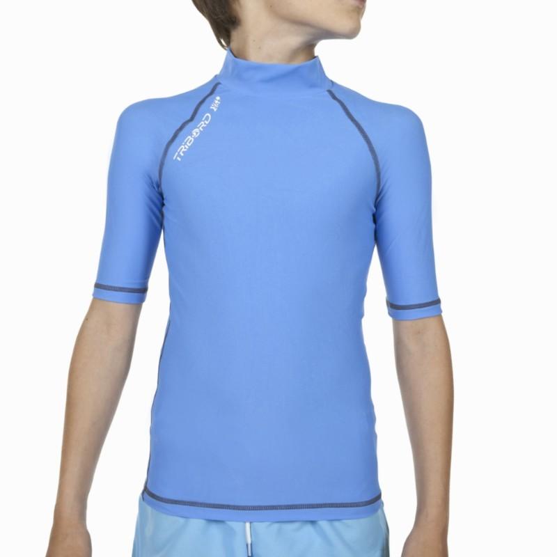Tribord Boys Girls Sun Uv Protection Top T Shirt Surf Swim