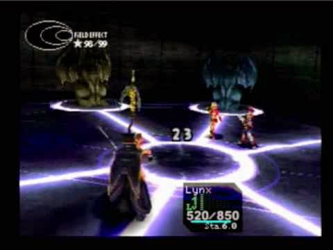 """Batalha épica de Chrono Cross, onde acontece um """"plot-twist"""" bem no meio de uma batalha!!!"""