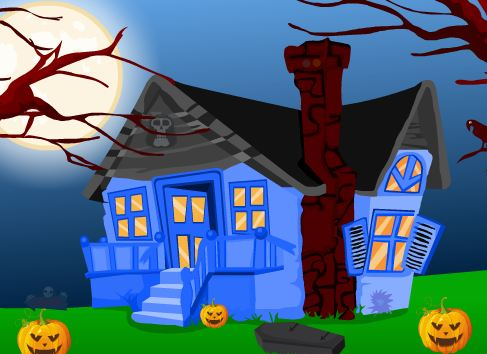 AjazGames Pumpkin Boy Halloween Escape