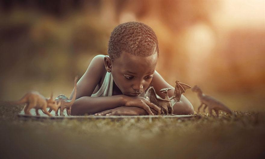 A pureza e inocência das crianças nas fotos de Adrian McDonald