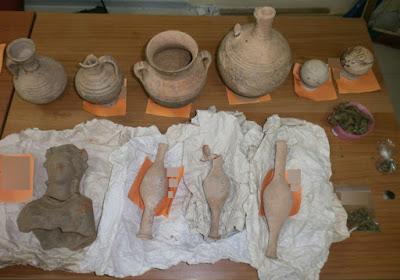 Συνελήφθη οικογένεια στην Πιερία για αρχαιοκαπηλία
