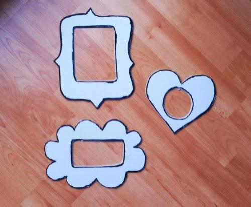 Manualidades c mo hacer marcos de cart n divertidos y - Como hacer un marco de fotos original ...