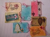Gift tags-Christmas